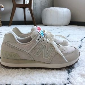 New Balance Cream 574 Sneaker